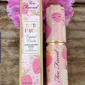 NIB Too Faced Tutti Frutti Highlighghter Stick